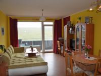 Dispozice kk se vstupem na balkon  (Prodej bytu 3+kk v osobním vlastnictví 76 m², Pelhřimov)