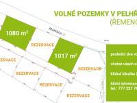 Prodej pozemku 1017 m², Pelhřimov