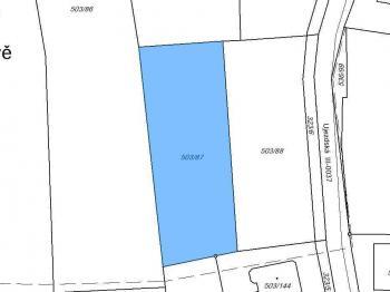 Prodej pozemku 1749 m², Průhonice