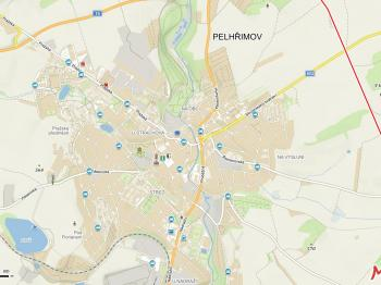 Pronájem skladovacích prostor 320 m², Pelhřimov