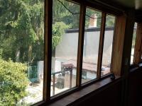 pohled z hodby do zahrady - Prodej chaty / chalupy 80 m², Kamenný Přívoz
