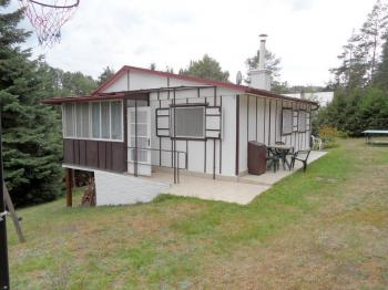 chata pohled z vchodové části - Prodej chaty / chalupy 55 m², Přibyslavice