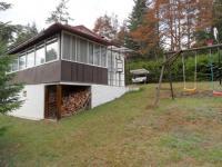 chata pohled ze zadní části - Prodej chaty / chalupy 55 m², Přibyslavice