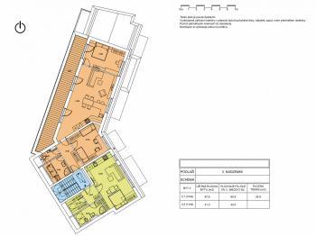 Prodej bytu 3+kk v osobním vlastnictví 90 m², Brno