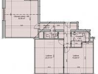 půdorys (Prodej bytu 3+kk v osobním vlastnictví 96 m², Říčky v Orlických horách)