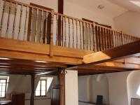 pohled do 1 patra bytu (Pronájem bytu 4+kk v osobním vlastnictví 198 m², Olomouc)