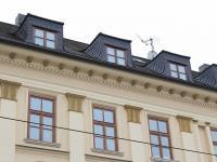 půdní vestavba 3 střešní okna (Pronájem bytu 4+kk v osobním vlastnictví 198 m², Olomouc)