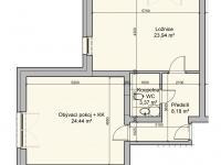 Prodej bytu 2+kk v osobním vlastnictví 61 m², Říčky v Orlických horách