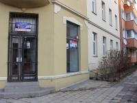 pohled vedlejší ulice - Pronájem obchodních prostor 50 m², Olomouc