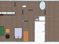 půdorys 3 NP - Prodej domu v osobním vlastnictví 427 m², Olomouc
