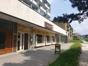 Pronájem obchodních prostor 287 m², Šumperk
