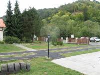 oplocený areál (Prodej penzionu 1300 m², Vítkov)