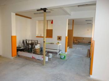 prostory v přípravě pro nového nájemce - Pronájem obchodních prostor 130 m², Chotěboř