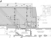 půdorys (Pronájem obchodních prostor 251 m², Děčín)