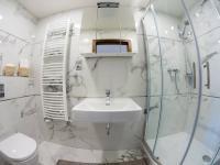 Koupelna s WC - Prodej bytu 1+kk v osobním vlastnictví 31 m², Praha 7 - Holešovice