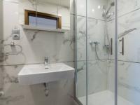 Koupelna se sprchovým koutem - Prodej bytu 1+kk v osobním vlastnictví 31 m², Praha 7 - Holešovice