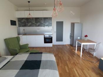 Pronájem bytu 1+kk v osobním vlastnictví 38 m², Praha 9 - Vysočany