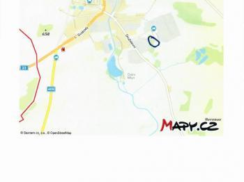 Prodej pozemku 5397 m², Studená