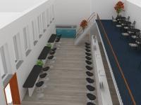 vizualizace - Prodej skladovacích prostor 220 m², Ostrava