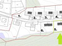 Prodej pozemku 1166 m², Hlubočky