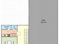 Dispozice 1.NP (Prodej komerčního objektu 534 m², Strážovice)