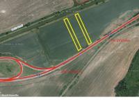 Pozemek č.2 a 3 (Prodej pozemku 2478 m², Sudoměřice)