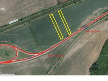 Pozemek č.2 a 3 - Prodej pozemku 2478 m², Sudoměřice