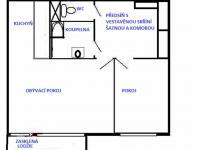 Prodej bytu 2+kk v osobním vlastnictví, 44 m2, Brno