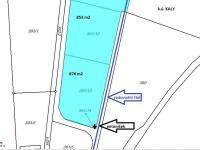 Prodej pozemku 853 m², Kaly