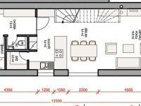 přízemí (Prodej domu v osobním vlastnictví 115 m², Rousínov)