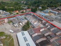 Pohled na nádvoří - Pronájem komerčního objektu 19000 m², Veselí nad Moravou