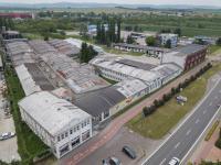 Pohled z ulice - Pronájem komerčního objektu 19000 m², Veselí nad Moravou