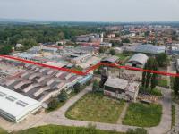 Pohled na volné plochy - Pronájem komerčního objektu 19000 m², Veselí nad Moravou