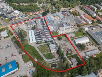 Celý areál - Pronájem komerčního objektu 19000 m², Veselí nad Moravou