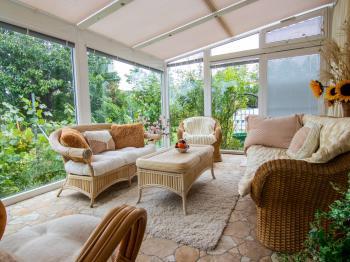 zimní zahrada - Prodej domu v osobním vlastnictví 250 m², Miroslav