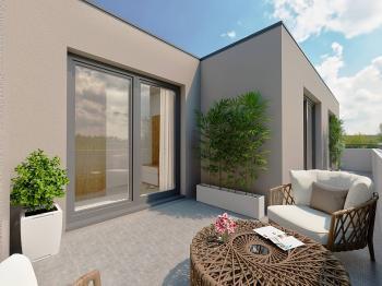 Budova C - Prodej bytu 3+kk v osobním vlastnictví 76 m², Unhošť