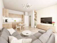 Budova B - Prodej bytu 3+kk v osobním vlastnictví 76 m², Unhošť