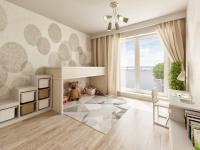 Budova D - Prodej bytu 3+kk v osobním vlastnictví 76 m², Unhošť