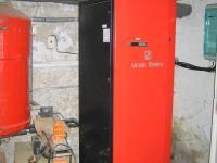 Tepelné čerpadlo. (Prodej domu v osobním vlastnictví 273 m², Horní Maršov)