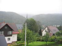 Výhled z domu. (Prodej domu v osobním vlastnictví 273 m², Horní Maršov)