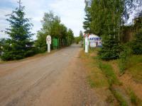 Příjezd do areálu  (Prodej komerčního objektu 33000 m², Dubenec)