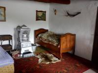 Pokoj v patře s americkými kamny - Prodej chaty / chalupy 210 m², Zbytiny