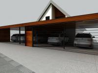3D vizualizace projektu (Prodej domu v osobním vlastnictví 282 m², Chvatěruby)