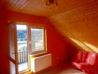 Pokoj se vstupem na balkon (Prodej domu v osobním vlastnictví 282 m², Chvatěruby)