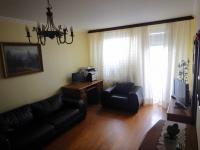 Obývací pokoj - Prodej bytu 4+1 v osobním vlastnictví 84 m², Praha 3 - Žižkov