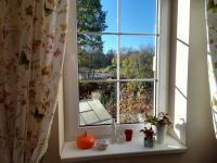 výhled z kuchyně na zahradu a jižní stranu - Prodej domu v osobním vlastnictví 230 m², Jince