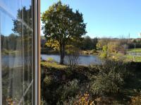 výhled z pracovny  - Prodej domu v osobním vlastnictví 230 m², Jince