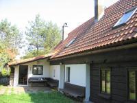 Zadní část domu. - Prodej chaty / chalupy 216 m², Jiřetín pod Jedlovou