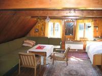 Pokoj v patře. - Prodej chaty / chalupy 216 m², Jiřetín pod Jedlovou