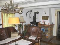 Obývací pokoj. - Prodej chaty / chalupy 216 m², Jiřetín pod Jedlovou
